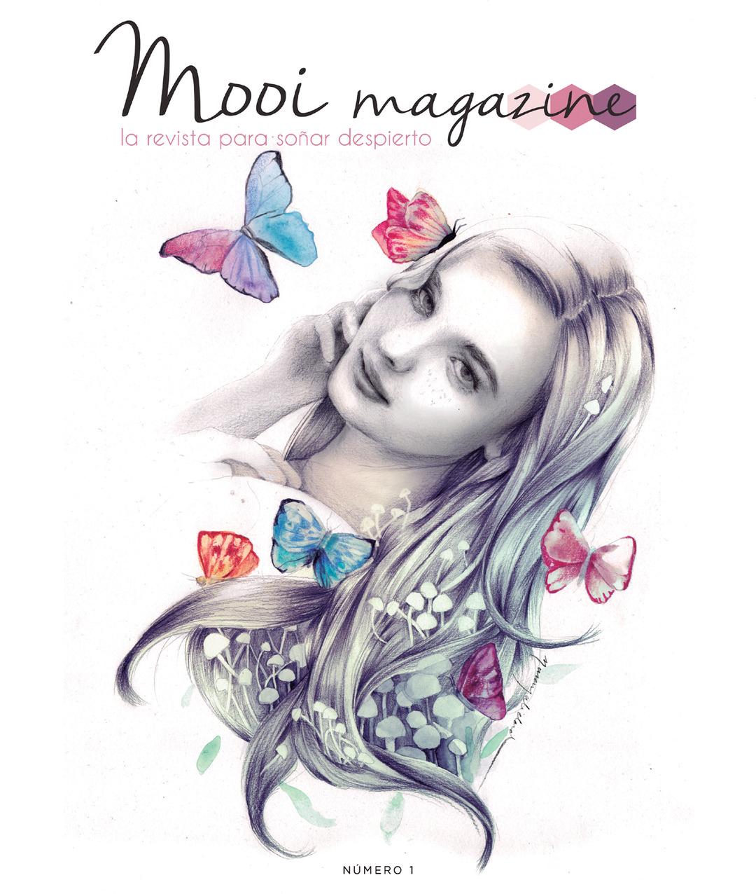 """Page 1 of Mooi magazine 01 """"La Transformación"""""""