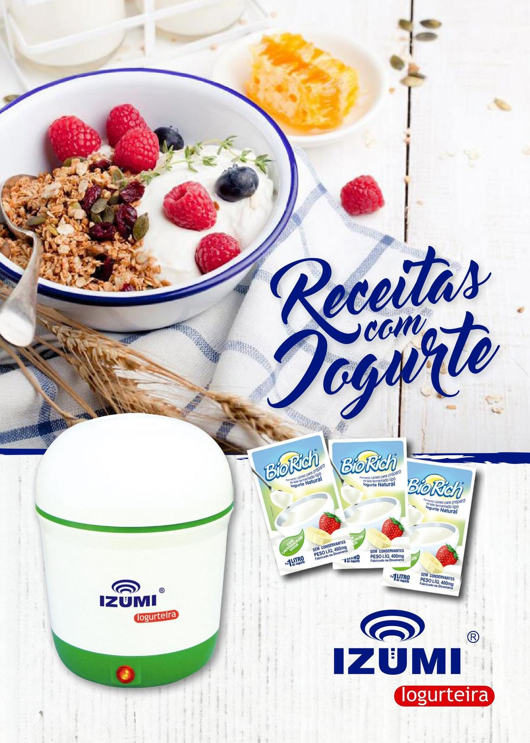 Page 1 of Receitas com Iogurte