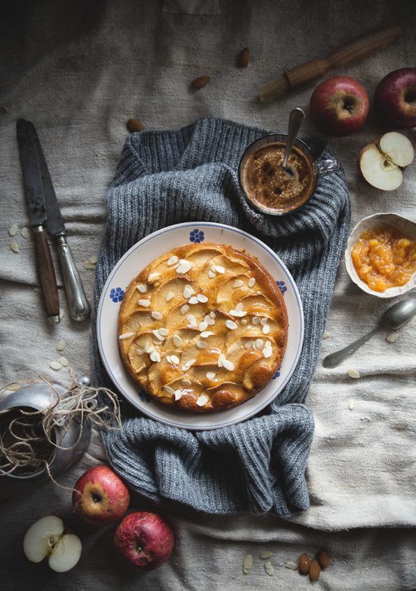 Read story: Apple Almond Cake