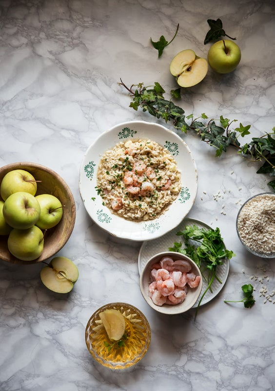 Page 12 of Apple Juice and Shrimp Risotto