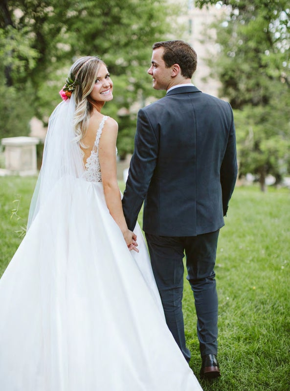 Read story: Real Weddings: Whitney + Tanner
