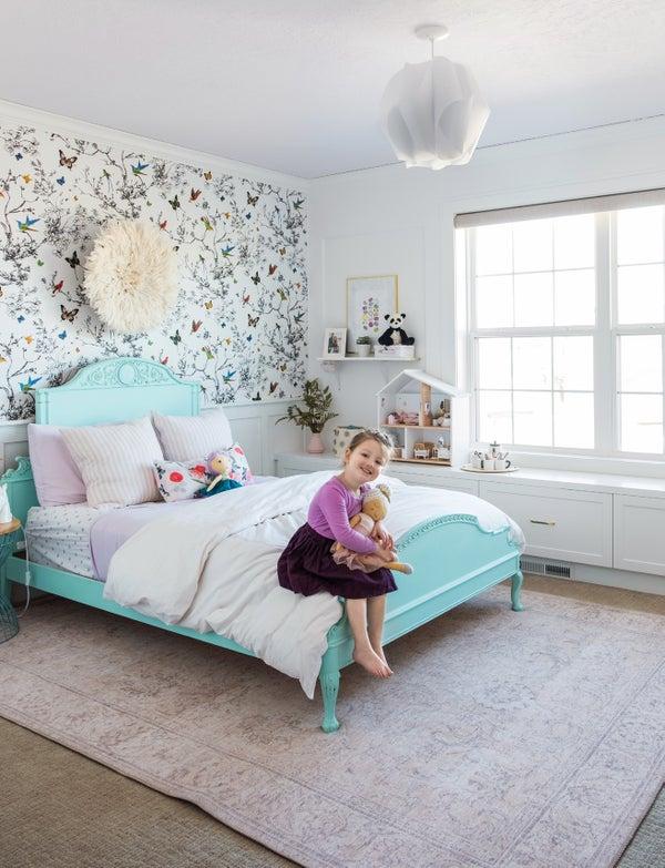 Read story: Birds, Butterflies & a Big Girl Bed