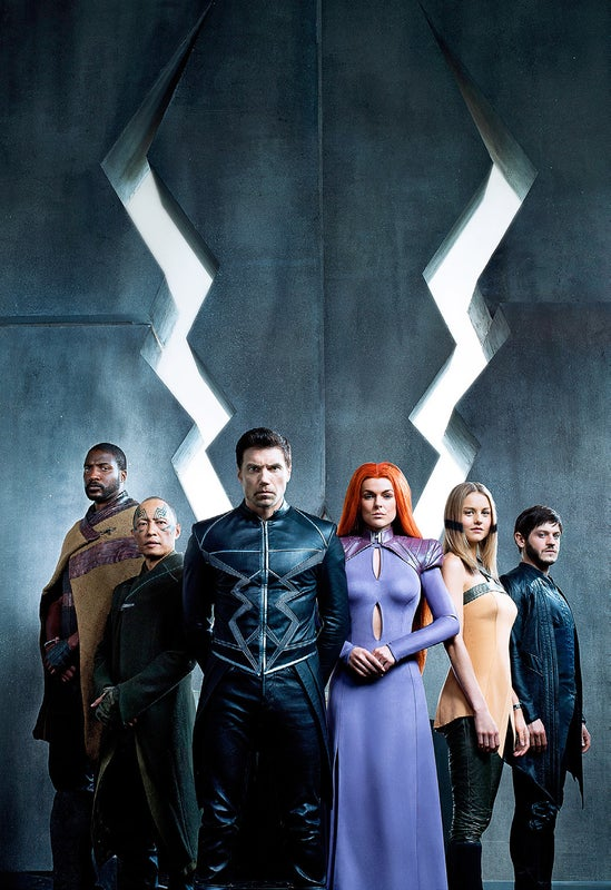 "Page 14 of séries: ""INHUMANS"""