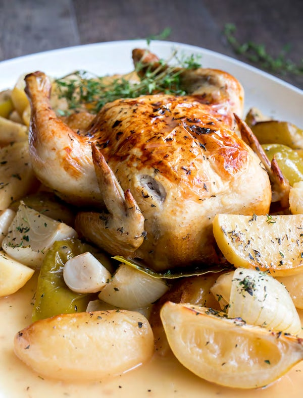 Read story: Farro Whole Cider Baked Chicken