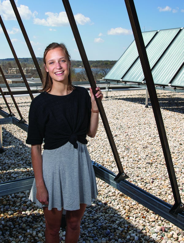 Page 10 of Class Act: Leah Johnson and Sustainability as the New Normal