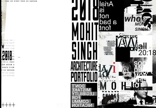 Page 1 of Mohit Singh | Architecture Portfolio 2018