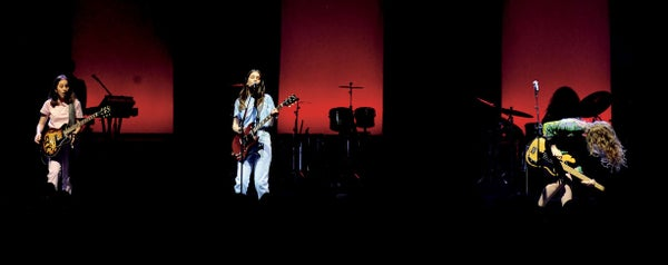 Page 80 of Sister Sister Sister: HAIM Delivers Rock Reality in the UK