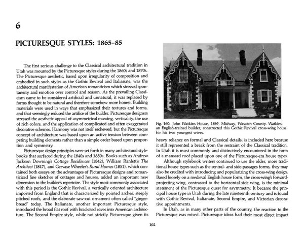Page 110 of Utah's Historic Architecture - Picturesque Styles 1847-1940