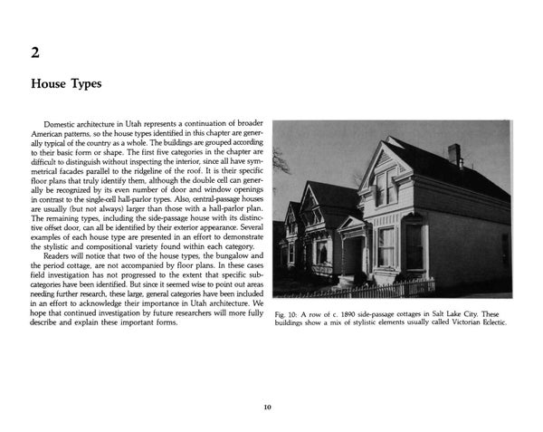 Page 20 of Utah's Historic Architecture - House Types 1847-1940