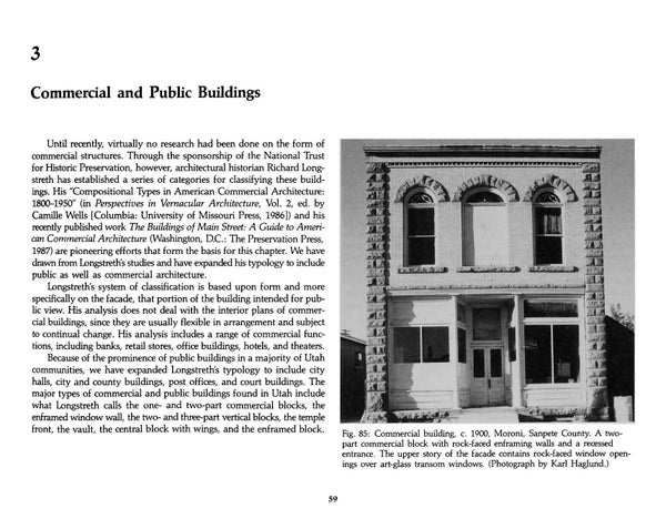 Page 66 of Utah's Historic Architecture - Commercial and Public Buildings 1847-1940