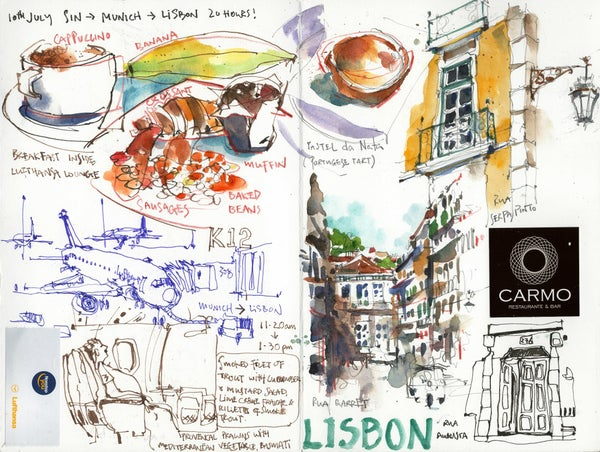 story from: Drawn To Travel - Europe 2018