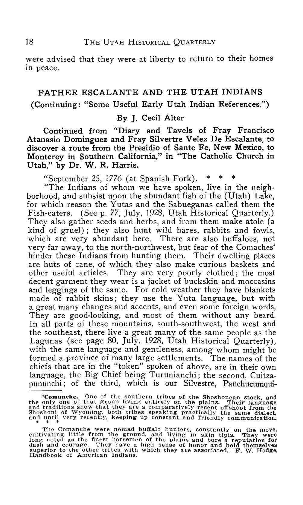 Page 18 of Father Escalante and the Utah Indians