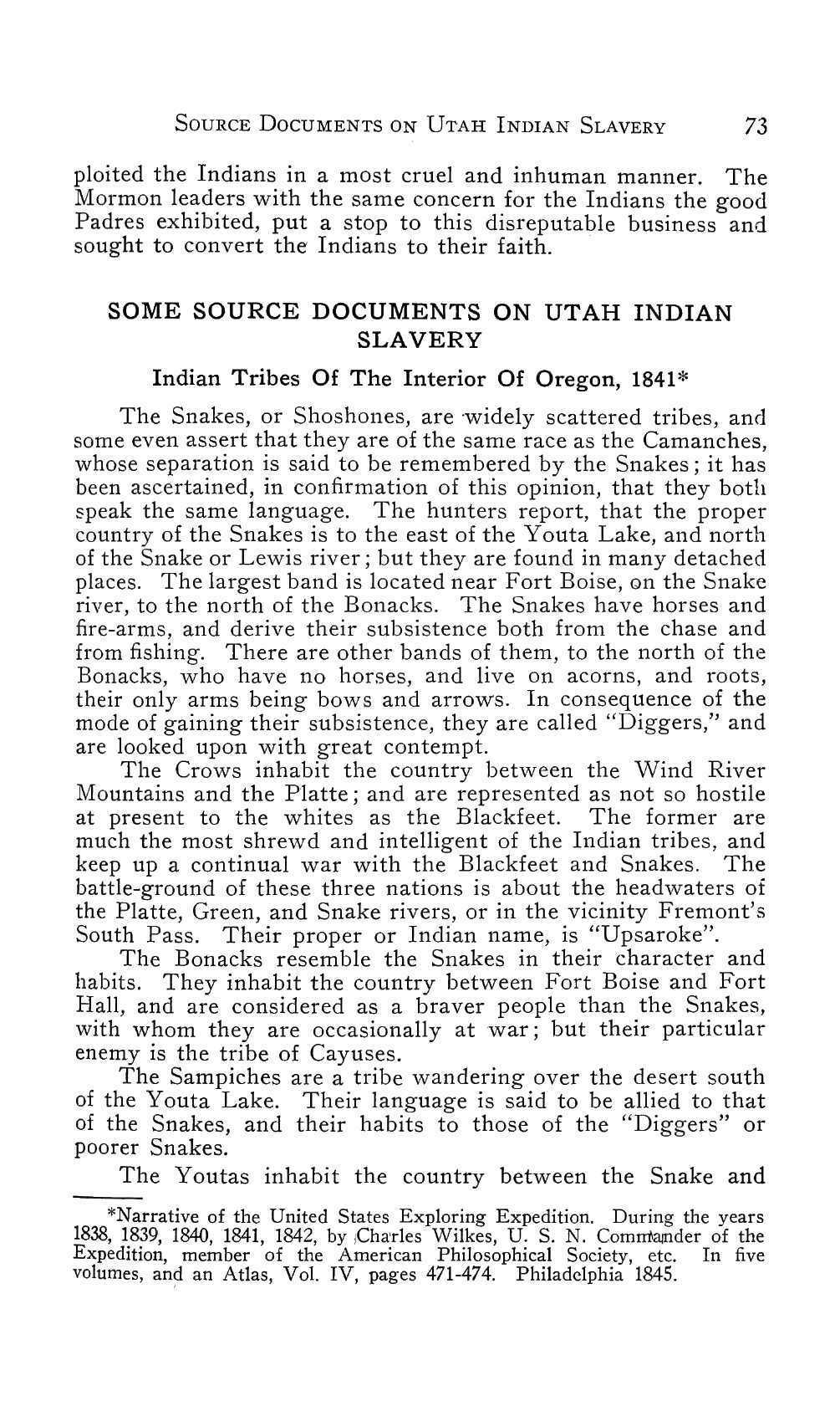 Page 76 of Some Source Documents on Utah Indian Slavery