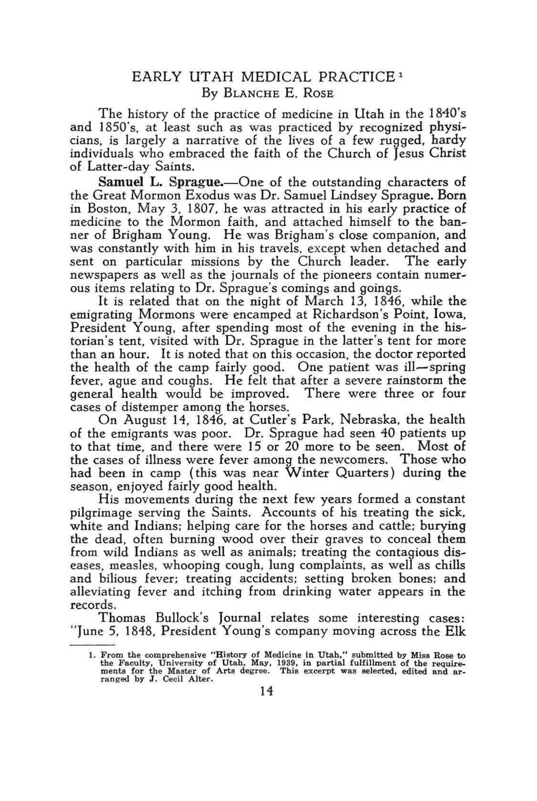 Page 22 of Early Utah Medical Practice