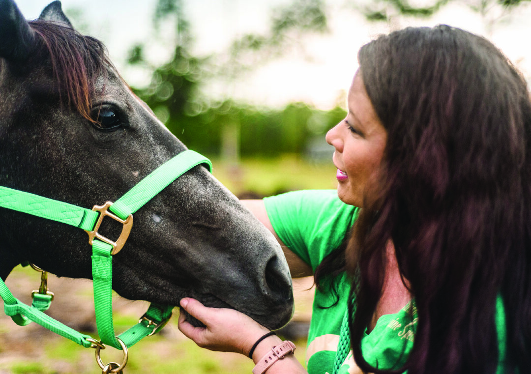 Read story: Equine Connections