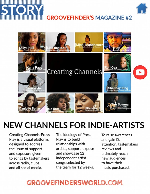 Page 18 of Groovefinder's Magazine #2 - Creating Channels