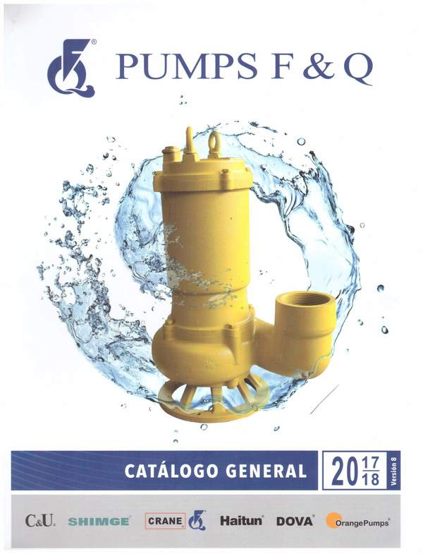Page 1 of v.9 - 2019 CATÁLOGO BOMBAS PUMPS F&Q, SHIMGE PUMPS, ORANGE PUMPS