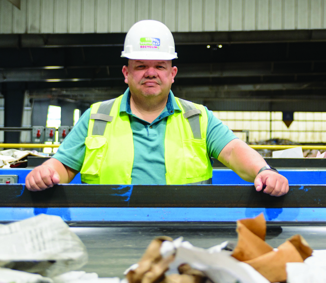 Page 7 of On the Front Line of Sorting Recyclables
