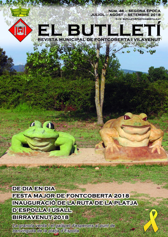 Page 1 of Butlletí Municipal número 46