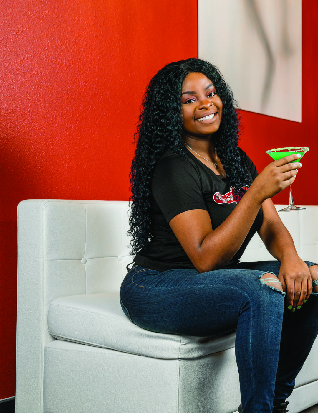 Page 54 of Mixologist of the Month: Mica Carter