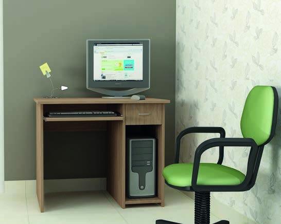 Бюро Евтино (дъб Амбер)- мебели Дискрет