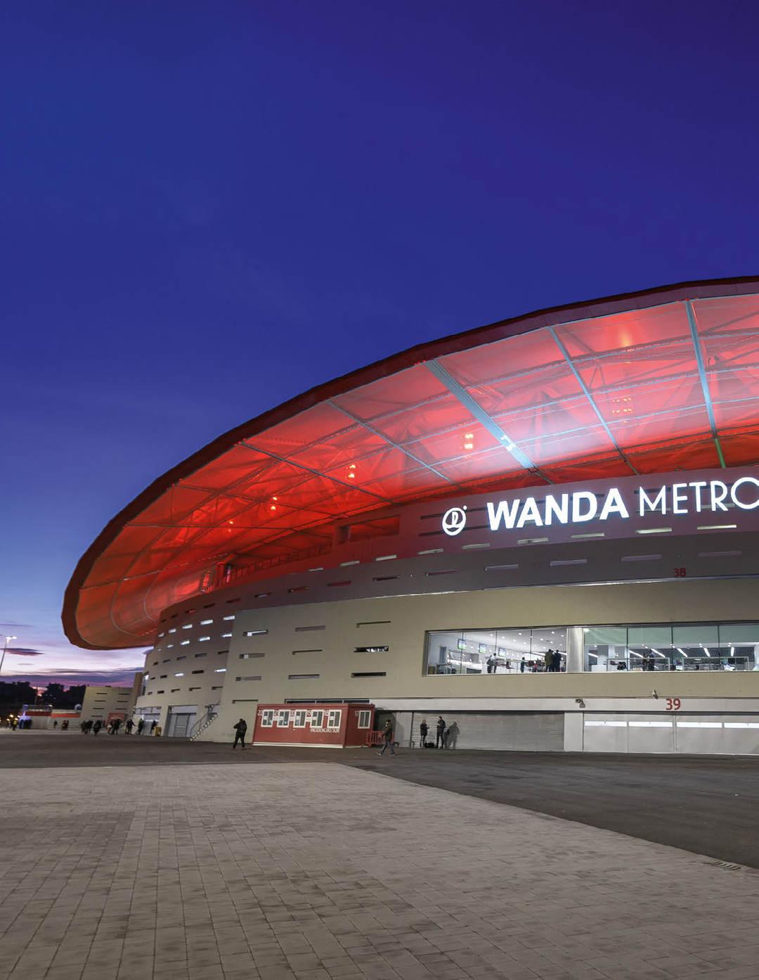 Page 24 of Wanda Metropolitano Stadium, Atlético de Madrid, Madrid, Spain