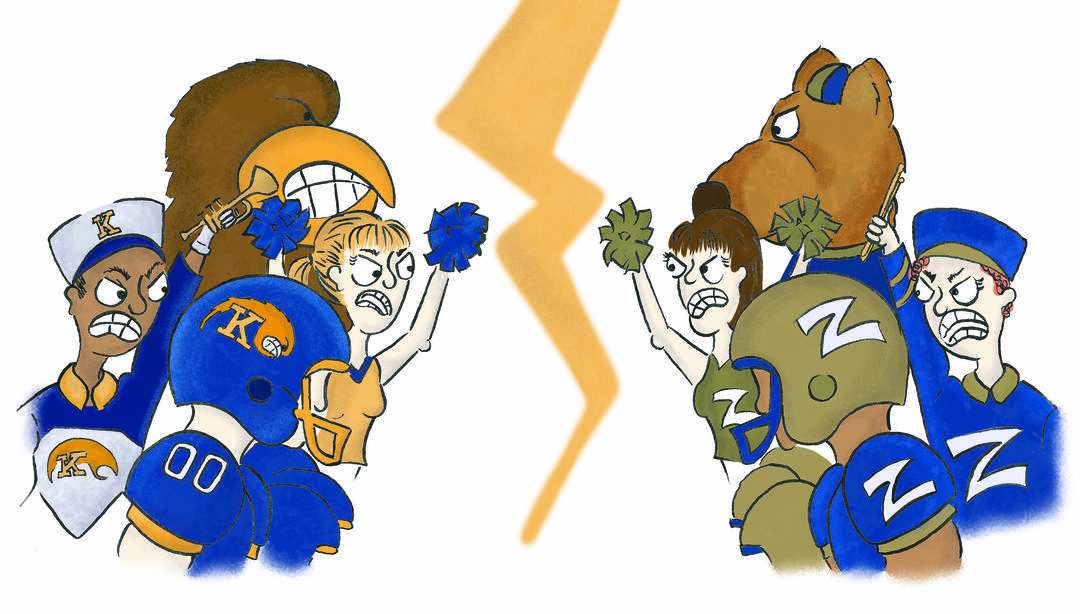 Page 16 of The College Rivalry: Competition Goes Beyond the Wagon Wheel