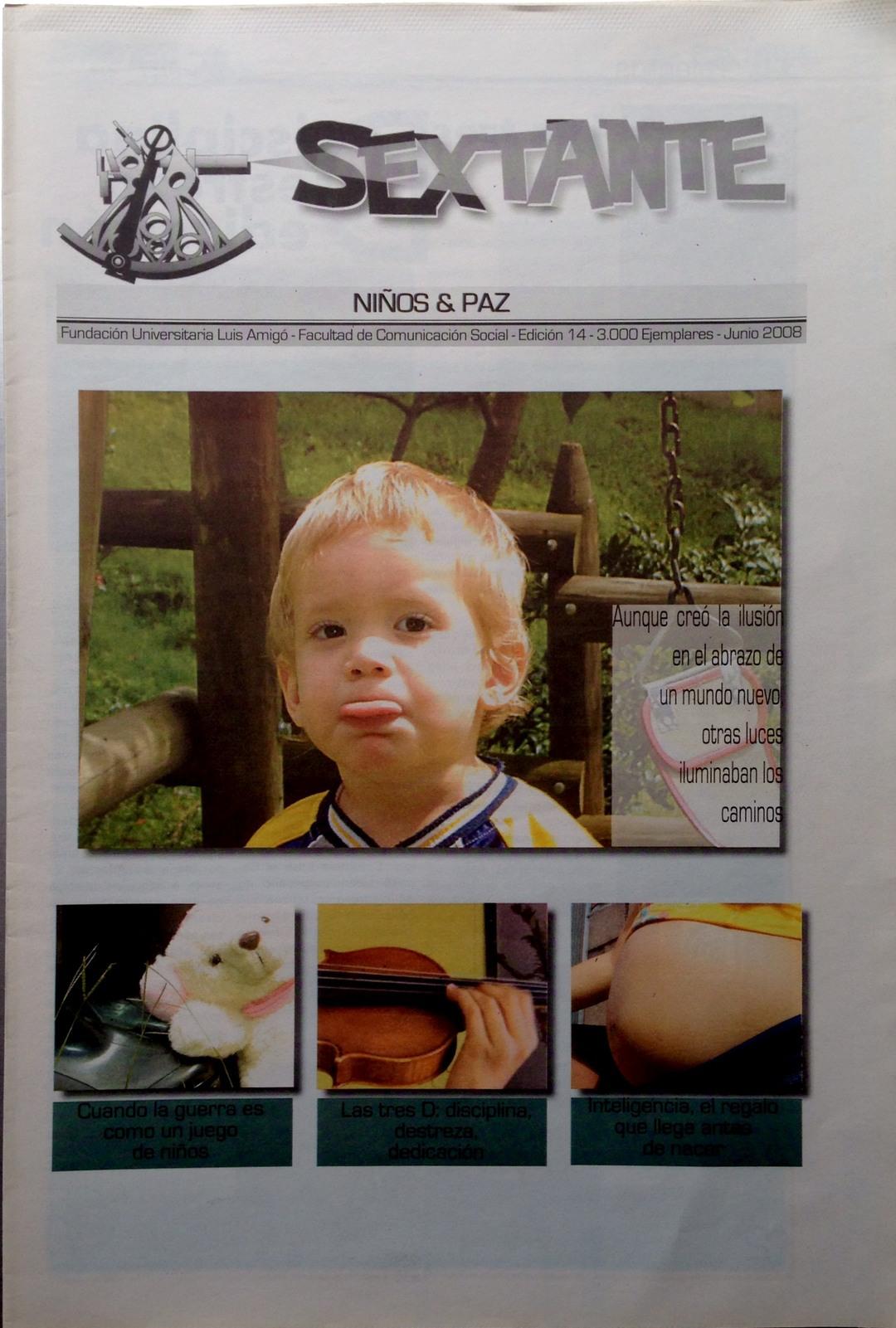 Page 1 of Décima cuarta edición