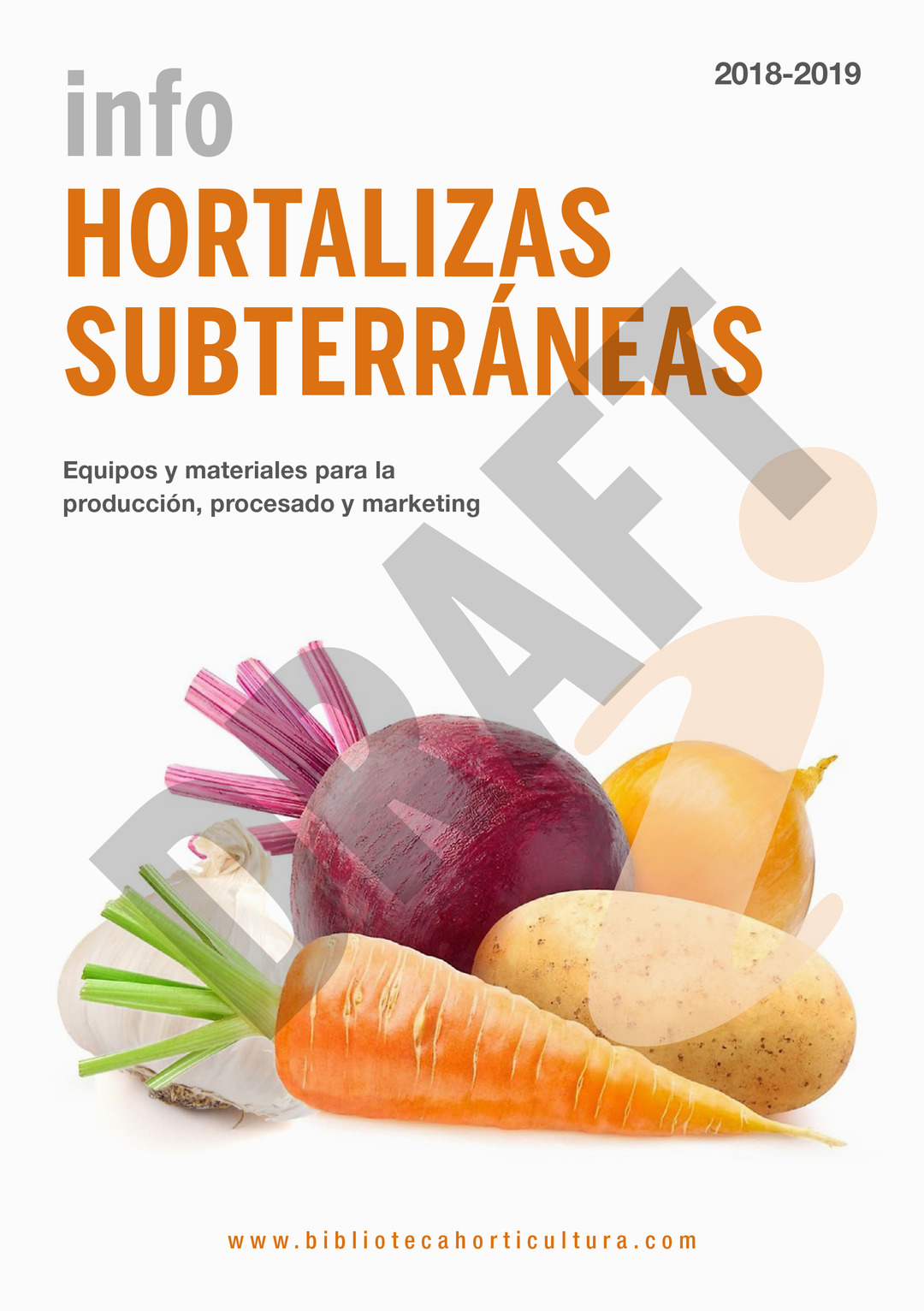 Page 1 of NEW!!! Info Hortalizas Subterráneas 2018-2019