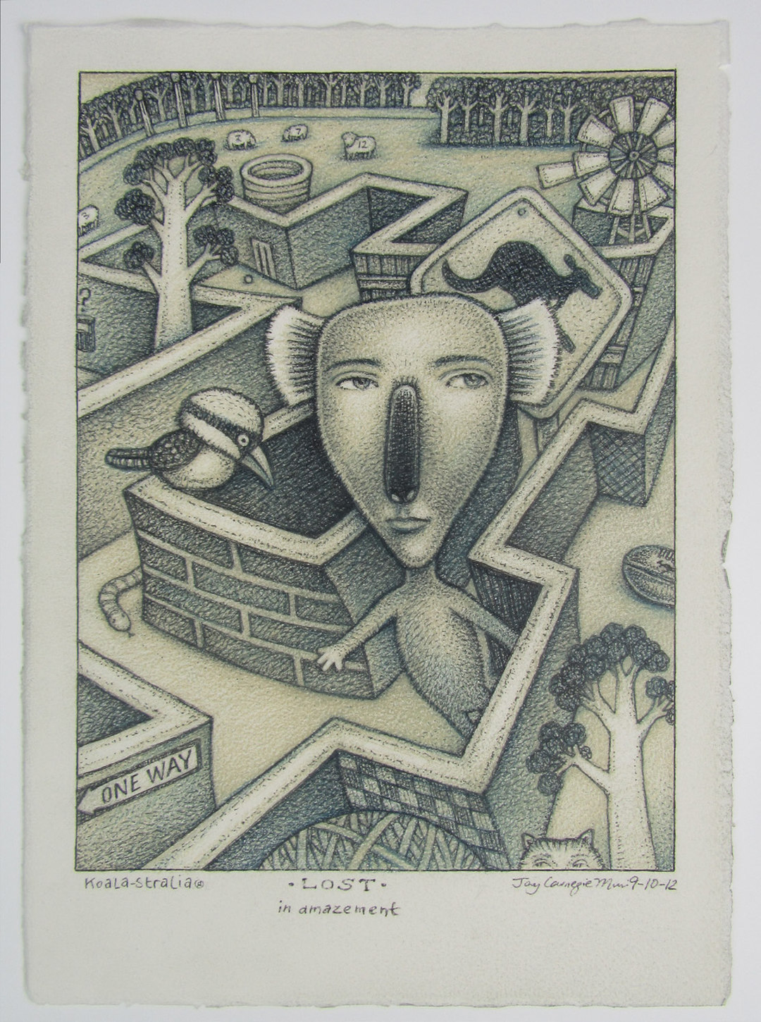 Page 10 of Quirky Koala-Australia art in originals and etchings from Carnegie Muir