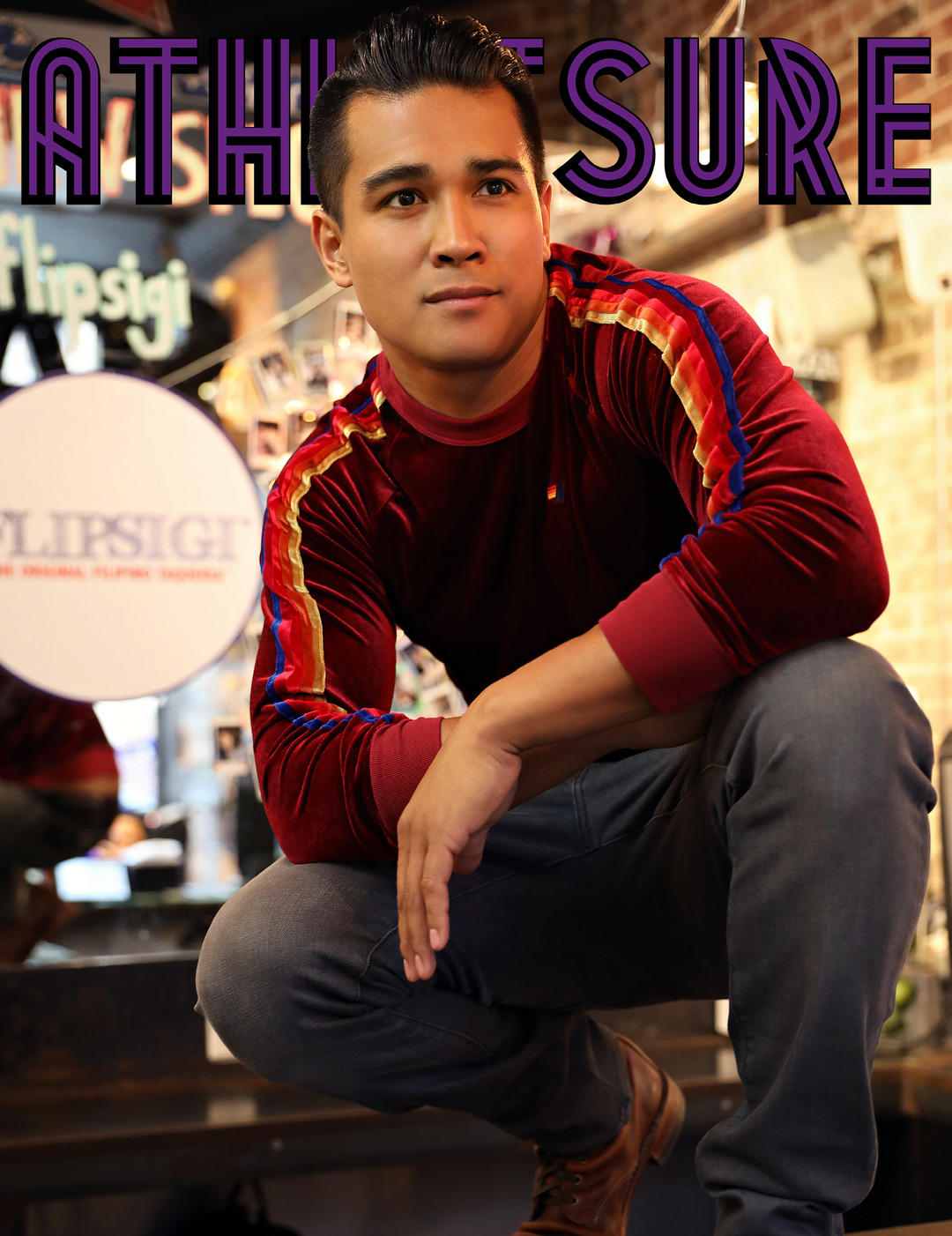 Page 1 of ATHLEISURE MAG NOV 2018 | Grab Your Fork + Knife with Jordan Andino