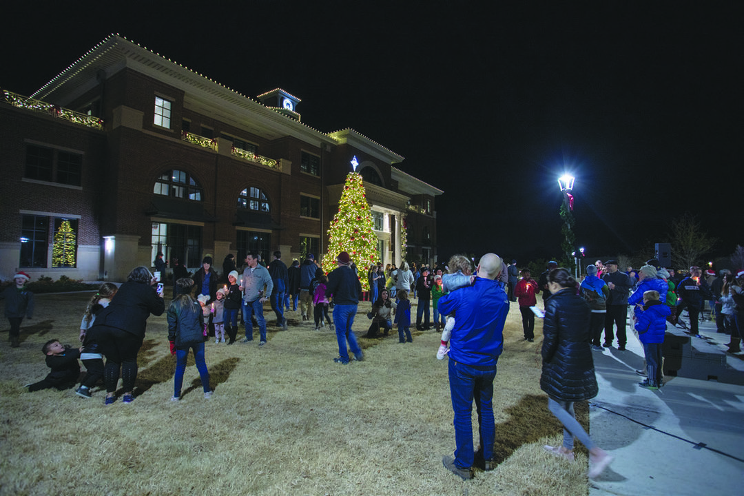 Page 12 of Christmas Tree lighting Tradition on the Lawn of Town Hall
