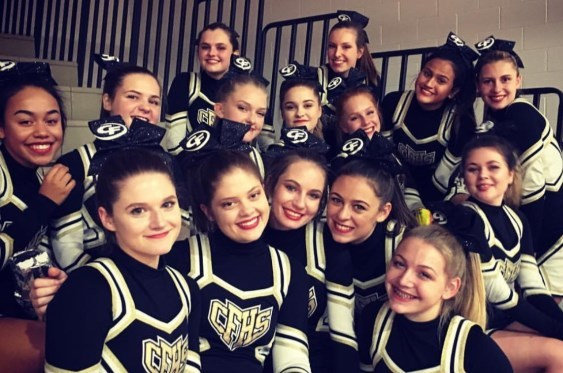 Page 2 of Go, fight, win! CFHS cheerleaders stole the show at competition at Brecksville-Broadview Heights High School