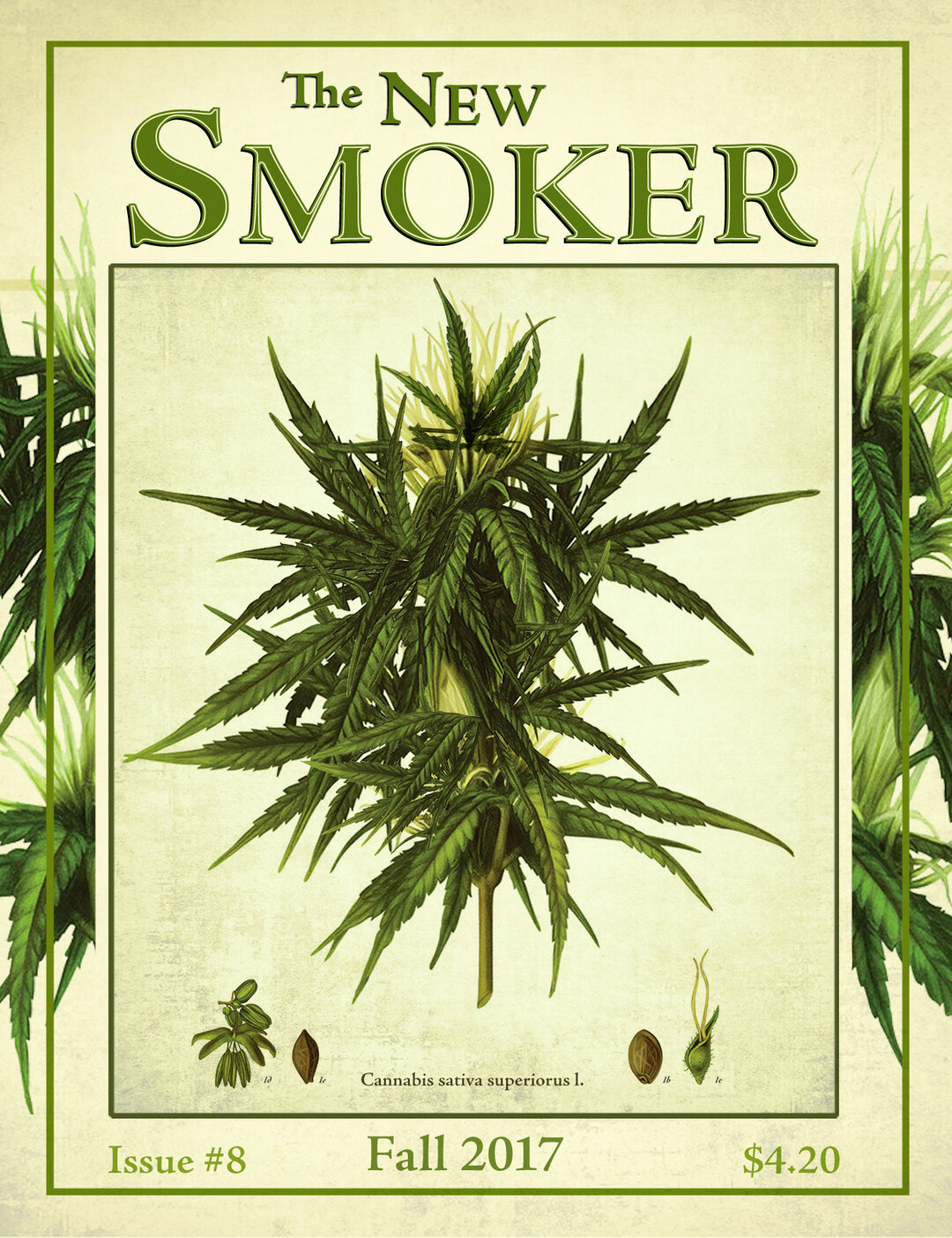 Page 1 of The New Smoker Issue No.8 - The Grow Issue