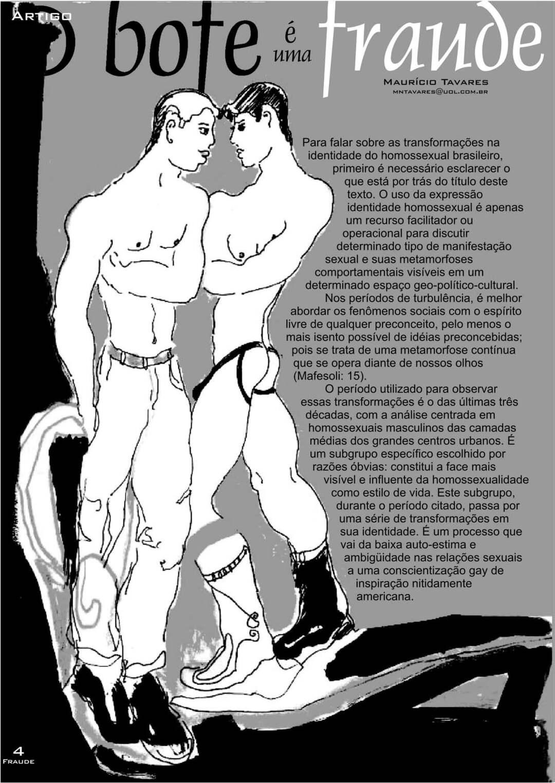Page 4 of Revista Fraude #1 - O bofe é uma fraude