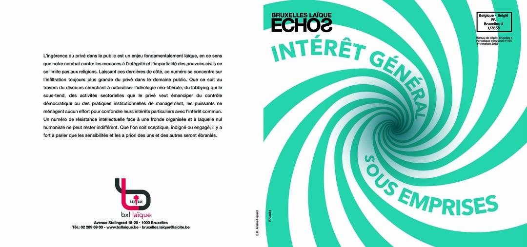 Page 1 of Intérêt général sous emprises