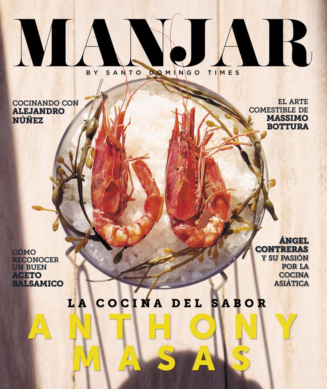 Page 1 of Manjar con Anthony Masas