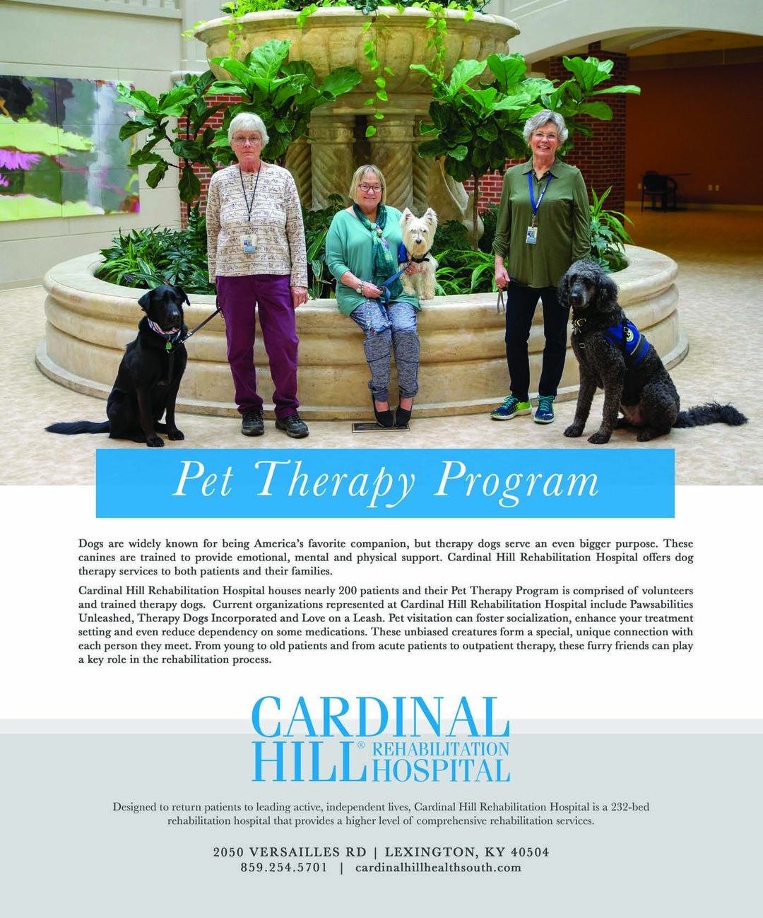 Page 10 of Pet Therapy Program
