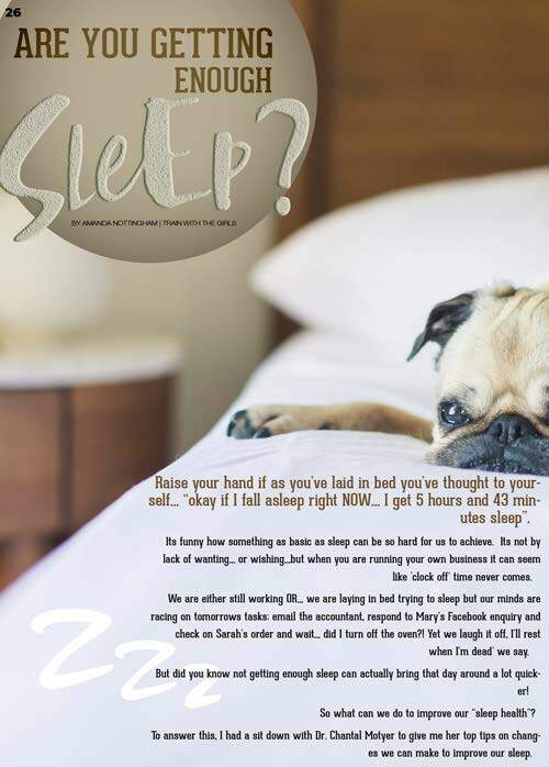 Page 26 of Are you getting enough sleep?