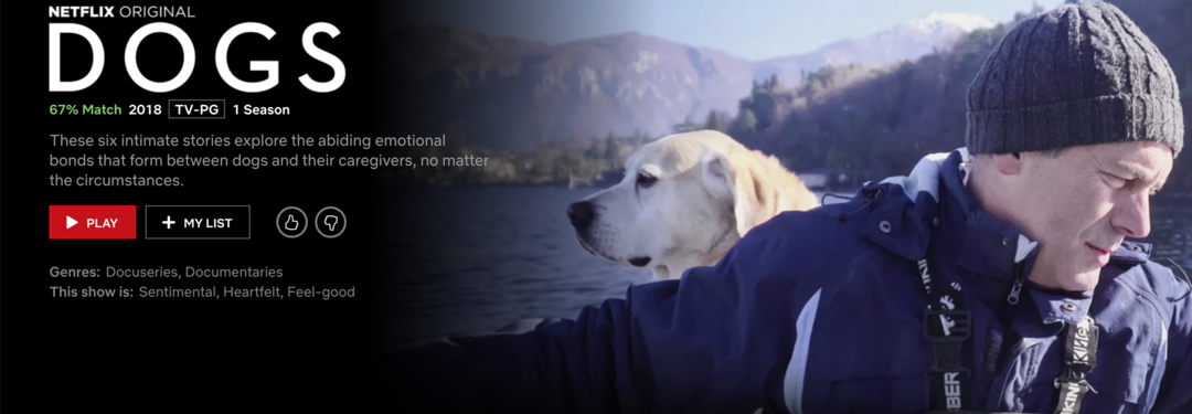Page 14 of Netflix's 'Dogs' deserves two paws up