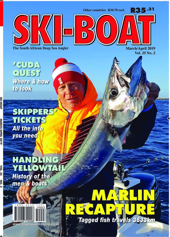Page 1 of Ski-Boat magazine March 2019