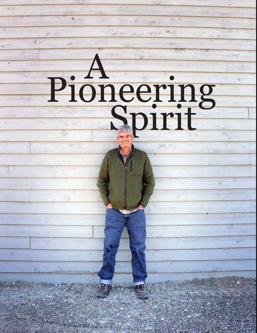 Read story: A Pioneering Spirit