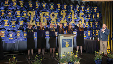 Page 9 of FFA Blue & Gold