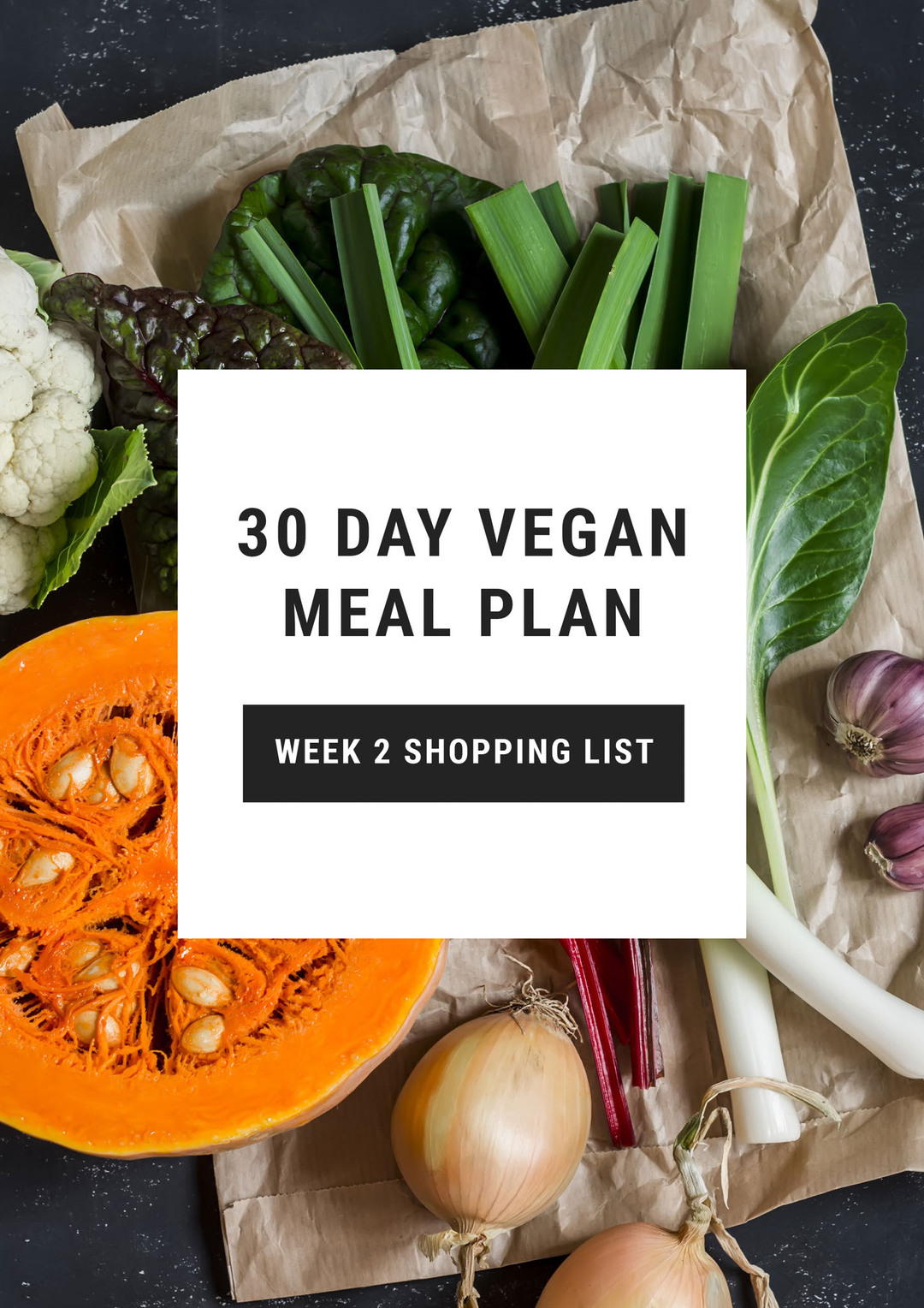 Page 1 of Plant Based Meal Plan: 2 Weeks