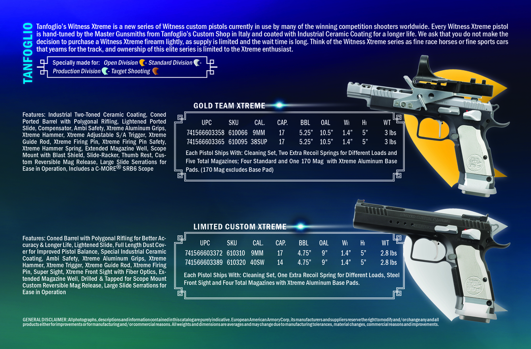TANFOGLIO Firearms - Issuu