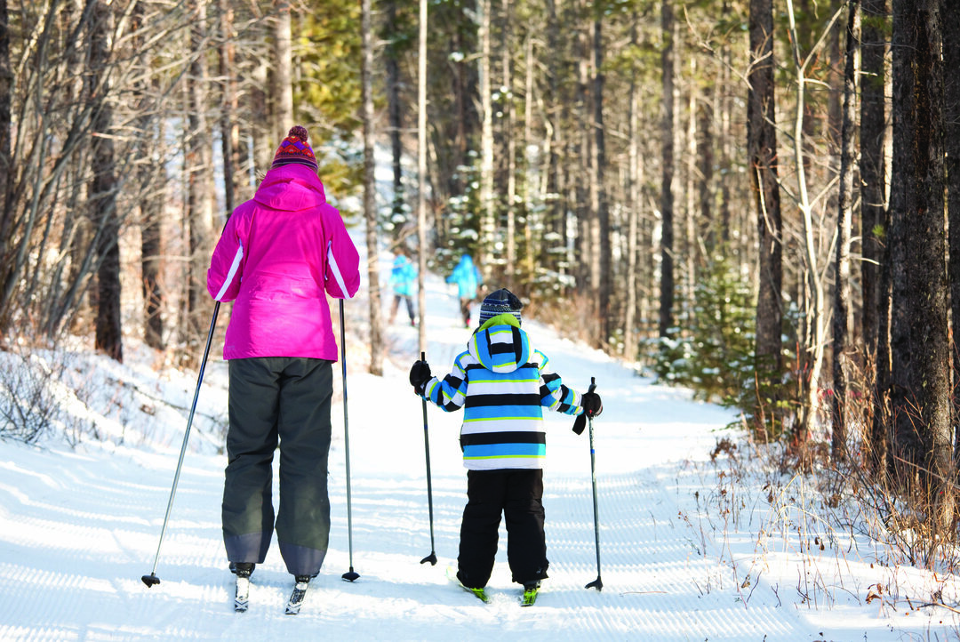 Page 40 of Experience Winter in Kananaskis: Cross-Country Skiing 101