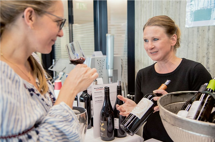 Page 112 of Behind the Scenes: Sommeliers aboard