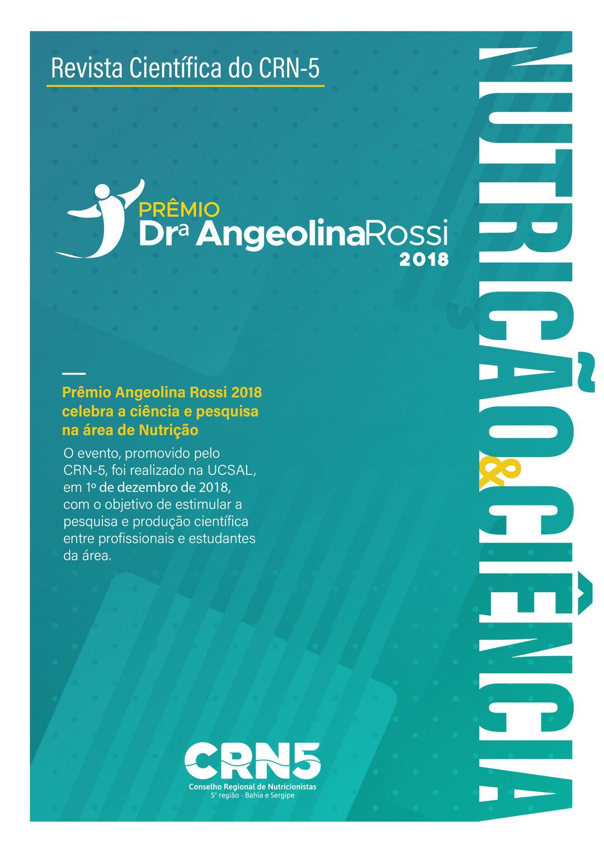 Page 1 of Revista - Pr\u00EAmio Angeolina Rossi 2018