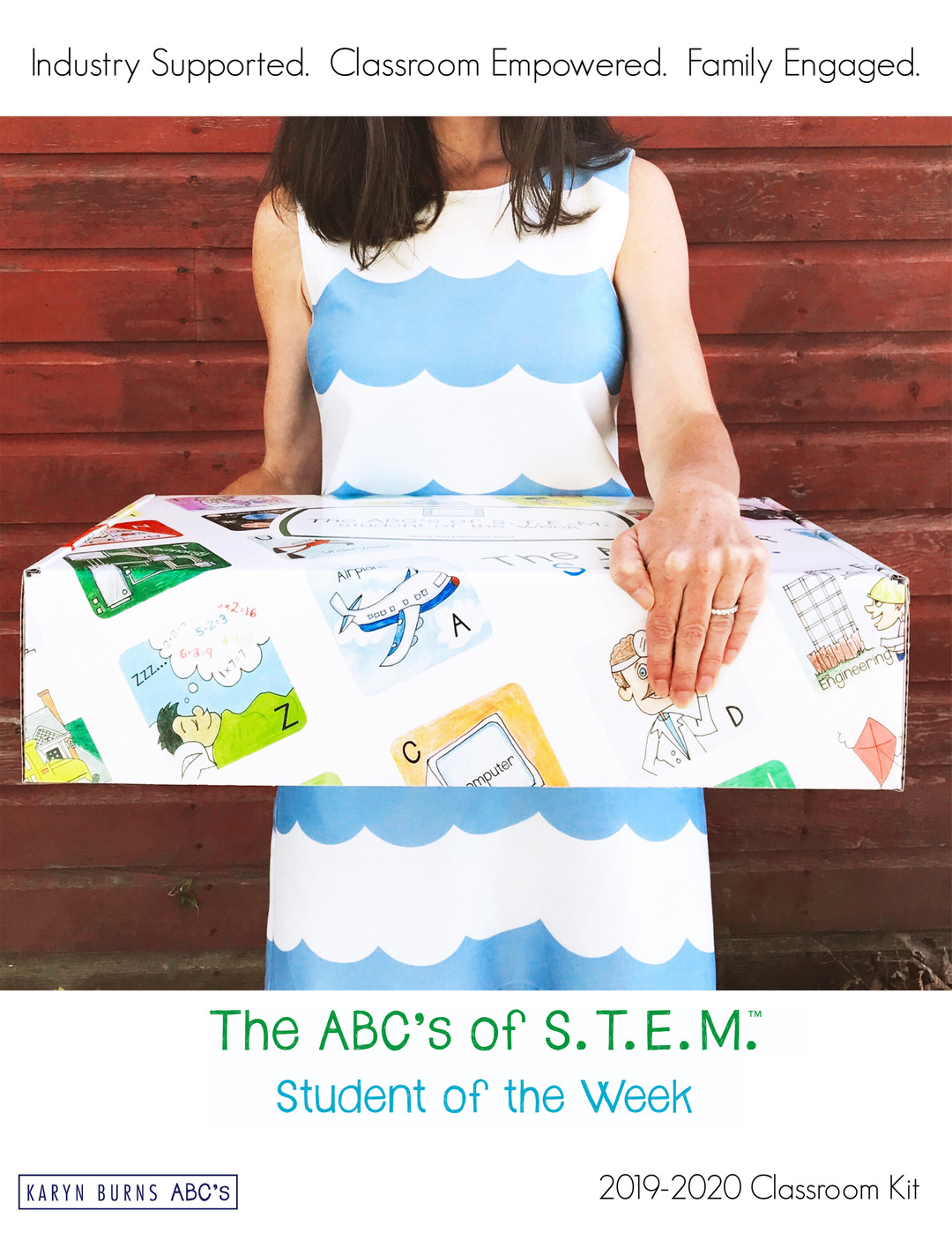 Page 1 of The ABC's of STEM Student of the Week Classroom Program
