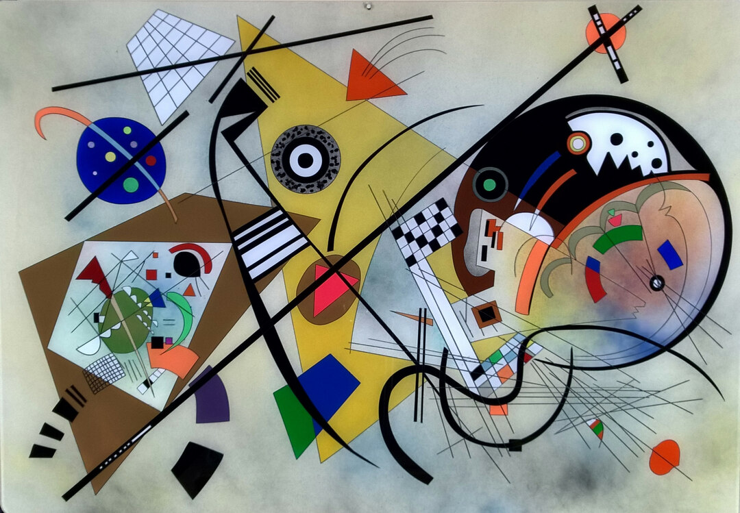 Who created the first abstract artwork